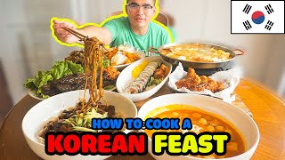 How to cook a KOREAN FEAST