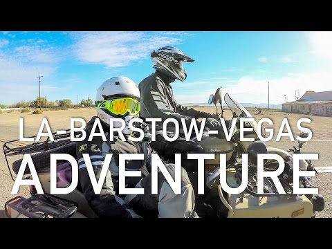 Ural Adventure – LA to Barstow to Vegas 2016 at RevZilla.com