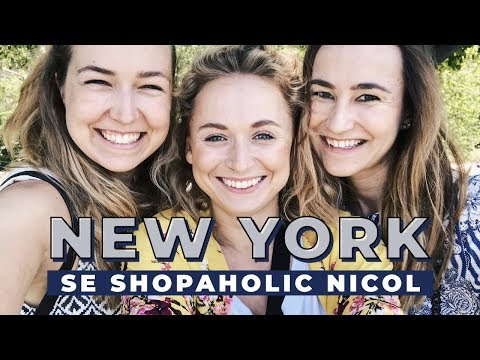 VLOG | V New Yorku se Shopaholic Nicol!