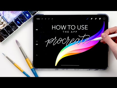 How To Use Procreate For Beginners (and everything I use it for)