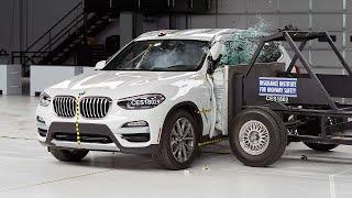 2018 BMW X3 Crushes Crash Tests