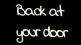 Maroon 5- Back At Your Door lyrics HD