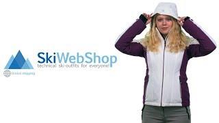 Icepeak, Nicki ski jas dames, optic wit • SkiWebShop