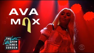 Ava Max - Sweet but Psycho (The Late Late Show with James Corden)