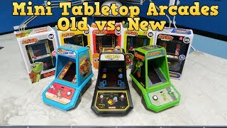 Mini Tabletop Arcades - Old vs. New