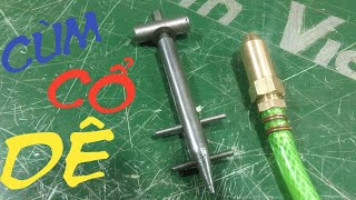 Wire binding hose clamping tool homemade hose pipe wire tensioner tools