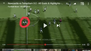 Analysing the goals conceded against Spurs