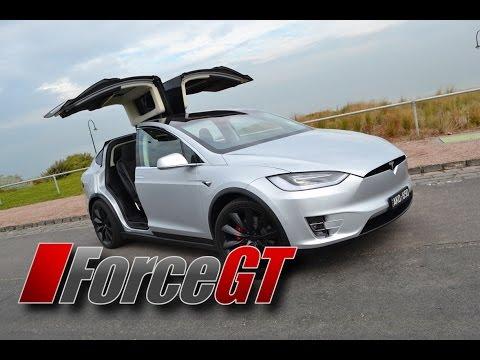 Tesla Model X P100D Walk Around & Road Test