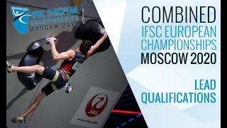 IFSC European Championships Moscow 2020 - Combined Lead Qualifications by International Federation of Sport Climbing
