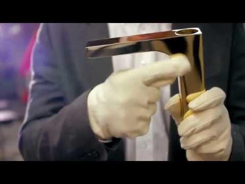2 Как создается смеситель Hansgrohe обработка поверхностей