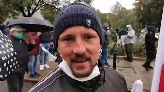 IROKEZ ROLNICY 13.10.2020r  interwencje milicji