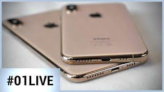 iPhone XS : nos premiers résultats de test justifient-ils son prix ? - 01LIVE HEBDO #198