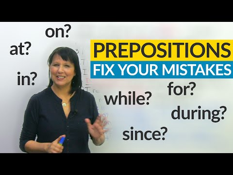 Prepositions: Fix 8 Common Errors with the F.U.N. method!