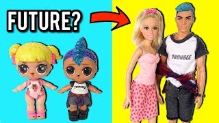 LOL Dolls Baby Goldie & Punk Boi All Grown Up! - New LOL Family