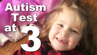 Autism Assessment for a 3 Year Old Girl| ADOS Evaluation