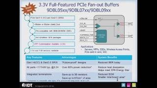 PCI Express (PCIe) Clock Zero-Delay and Fanout Buffers by IDT