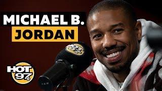 Michael B. Jordan On Being A Sex Symbol, 'Black Panther II' Rumors + Remembering Stan Lee