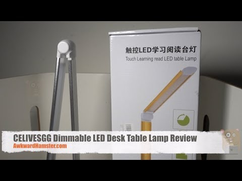 CELIVESGG Dimmable LED Desk Table Lamp Review