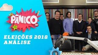 Eleições 2018: Análise com Felipe Moura, Joel Pinheiro e Arthur Rollo – Pânico – 08/10/18