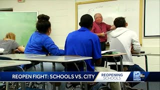 Reopening fight: Schools vs. Milwaukee