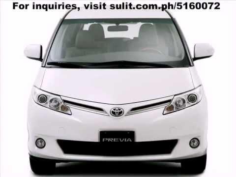 Toyota Previa Philippines