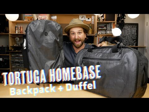 Tortuga Homebase Backpack & Duffel Case