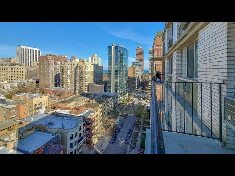 A Lakeview East 1-bedroom with a balcony #13A at 441 W Oakdale