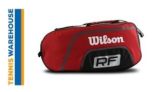 Wilson Federer Team Collection 3-Pack Bag video