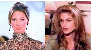 Cindy Crawford - Calls Christy Turlington As The Most Beautiful Supermodel❤️
