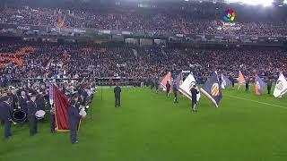 Calentamiento Valencia CF vs Real Madrid