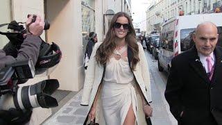 Victoria S Secret Model Izabel Goulart In Paris
