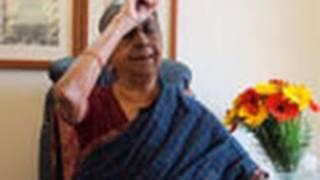 Expression of Radha's anger as in Ashtapadi