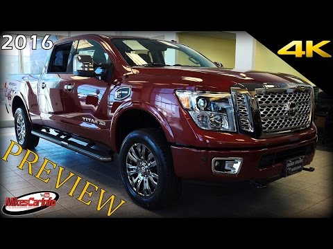 2016 Nissan TITAN Preview