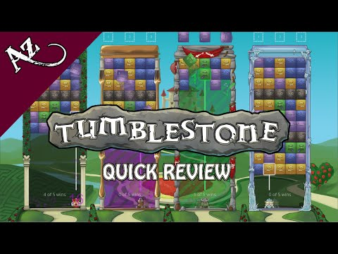 Tumblestone – Quick Game Review video thumbnail