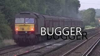 Filming Trains - when sh*t happens.....