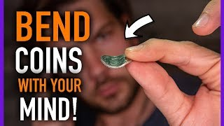 MAGIC TUTORIAL - LEARN HOW to BEND a COIN with YOUR MIND!!!