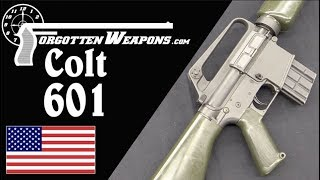 Colt 601: The AR-15 Becomes a Military Rifle