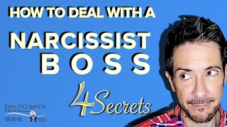 How to deal with a narcissist boss at work   Professional  Communication Skills Training Videos