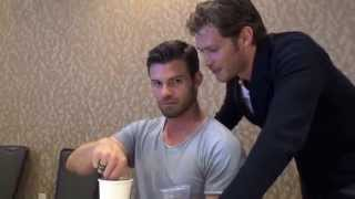 Дэниэл Гиллис, SDCC 2015: Joseph Morgan & Daniel Gillies THE ORIGINALS (Tell-Tale TV)