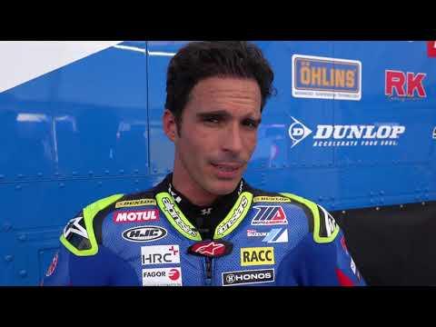 Toni Elias Talks about Barber Motorsport Park MotoAmerica finale 2019 (In Spanish)