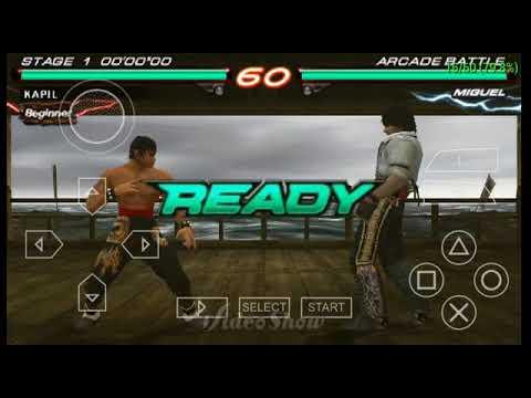 Tekken 6 on Android Using PPSSPP 0 9 9 + Settings (Ultra