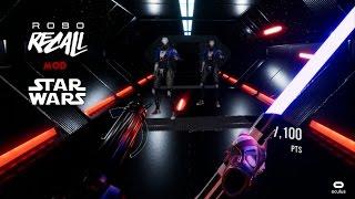 Robo Recall Star Wars Mod - Oculus Rift + Touch (GamePlay)