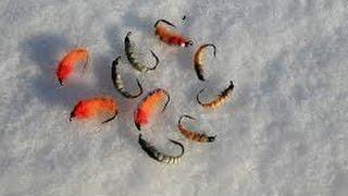 Рыбалка зимой на мушку