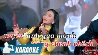 Karaoke Mưa Đêm Ngoại Ô (Tone Nữ)  Quý Lễ | Nhạc Vàng Bolero Karaoke