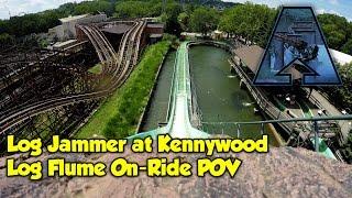 Log Jammer Log Flume 4K On-Ride POV - Kennywood [Arrow Bonus Content]