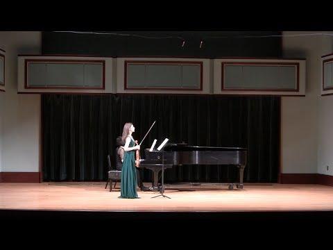 Brahms Violin Sonata No. 3 in D minor, Op. 108 _ Allegro (1/4)