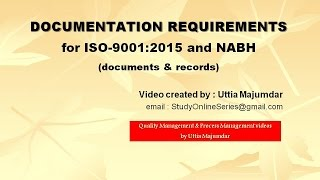 Iso 90012015 critical points of review during the transition audit documentation requirements for iso 90012015 and nabh fandeluxe Image collections