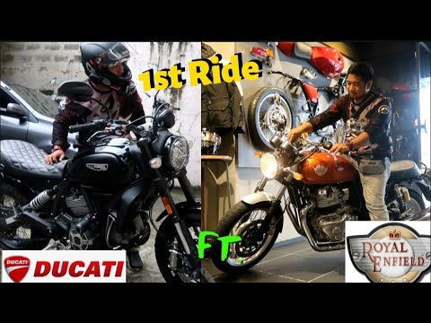 CITY RIDE EXPERIENCE WITH DUCATI SCRAMBLER 2019 / WINDOW SHOPPING SA ROYAL ENFIELD MAKATI