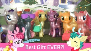 My Little Pony: Best Gift Ever Pearlized Mane 6 Set Review!