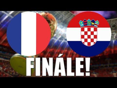 FIFA World Cup 2018 | FINÁLE! | Francie - Chorvatsko | CZ/SK